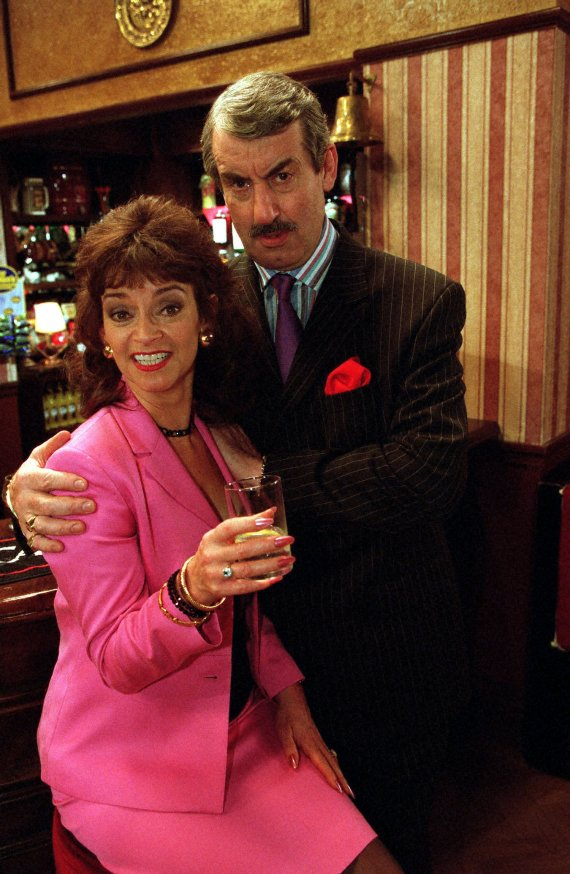 EastEnders fans have urged bosses to sign up Boycie actor John Challis after his Only Fools and Horses wife Sue Holderness joined the cast