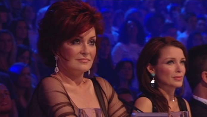 Sharon and Dannii were judges together on The X Factor for three years