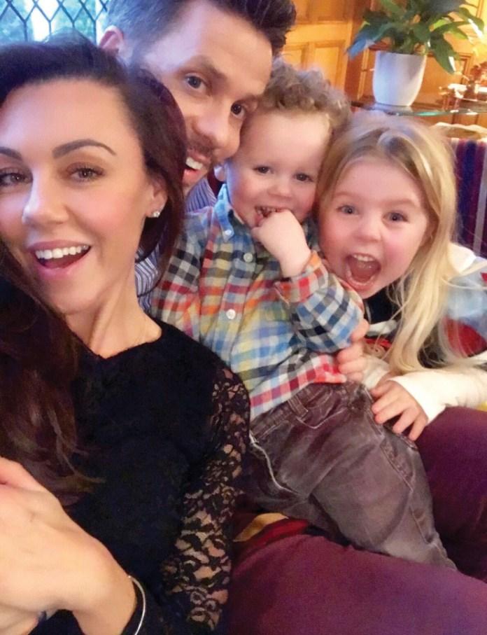 Michelle Heaton's whole family have coronavirus