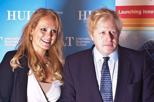 Boris Johnson's alleged former mistress claims he lost a sock during sex
