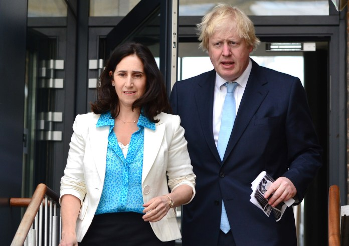 Johnson was married to Marina Wheeler, QC, at the time of the alleged affair