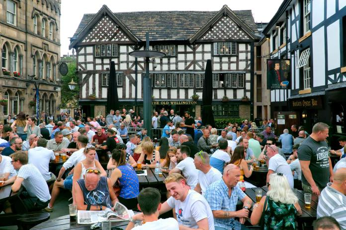The tags will be rolled in a bid to limit boozy brawls when England's pubs reopen