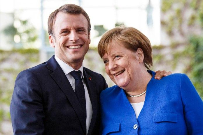 No one would have bet on Angela Merkel and Emmanuel Macron being peddlers of anti-vax lies