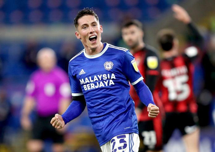 Harry Wilson has spent this season on loan at Cardiff City