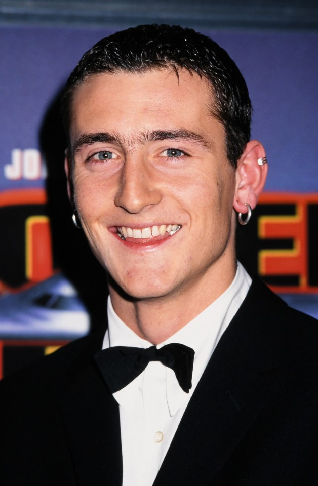 Will pictured as a young actor in 1996