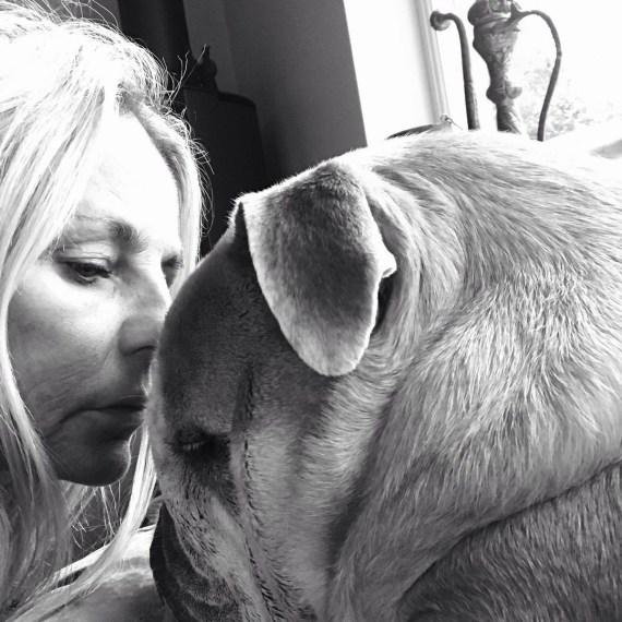 Ulrika Jonsson's dog Fella has died
