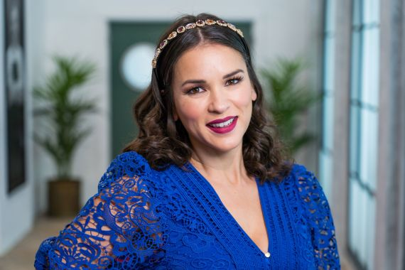 Rachel Khoo is a brand new face to BBC Two'sGreat British Menu
