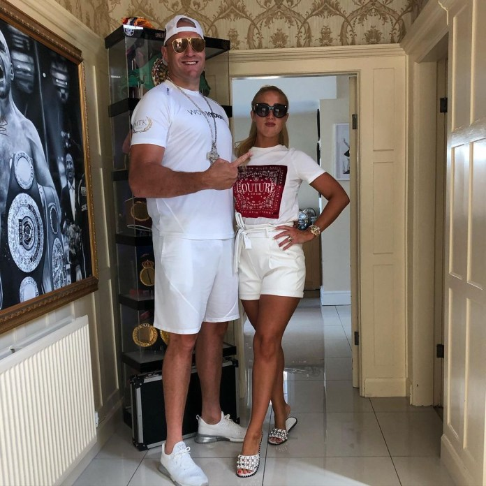 Tyson Fury and his wife Paris Hilton are expecting their