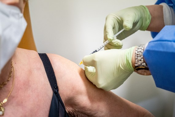 Some patients who have received a Covid jab have claimed they have been left with a metal taste after vaccination