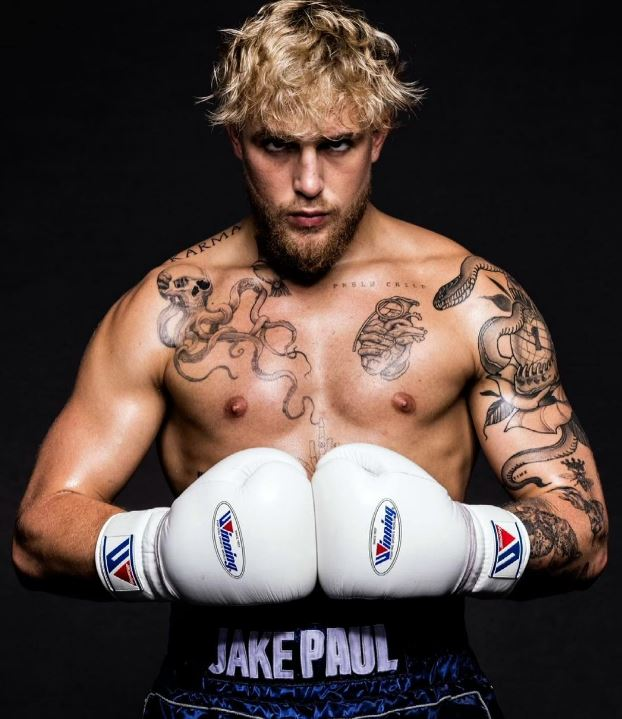 YouTuber Jake Paul has feuded with Tommy Fury online