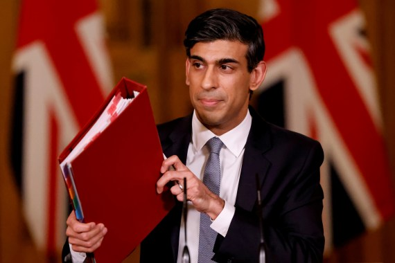 The former PM, 54, texted the Rishi Sunak's private phone asking for support for finance business Greensill Capital