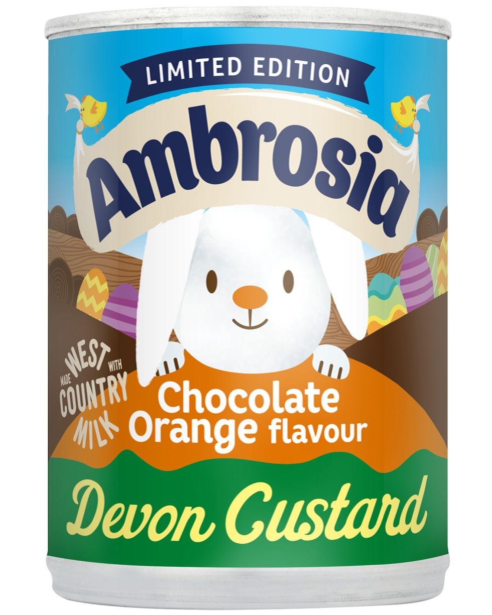 The new limited-edition Ambrosia chocolate orange flavour is coming to Tesco