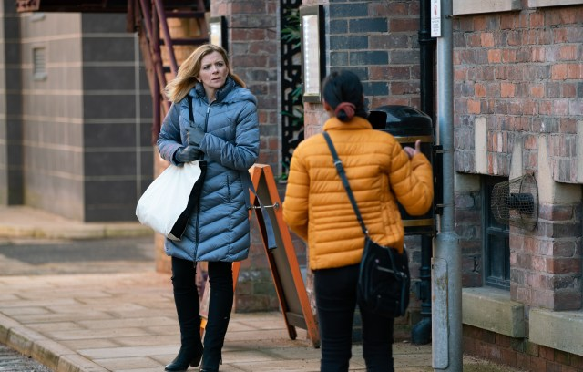 Coronation Street's Leanne Battersby has not had a great year