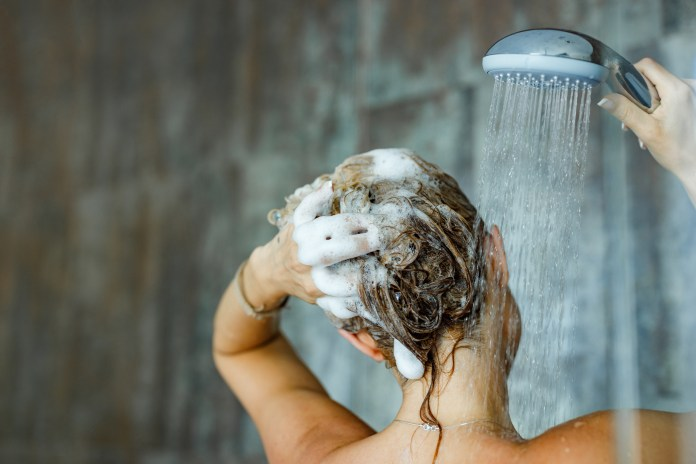 A senior stylist has revealed the secret to a good hair-washing technique
