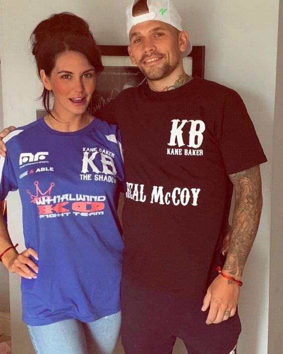 Super-feather star Kane Baker credits his fiance Coral with turning his life around