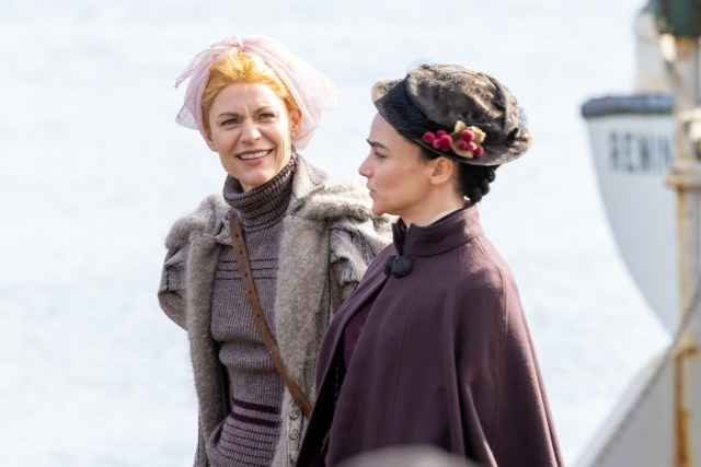 Claire Danes has taken over as the lead in The Essex Serpent