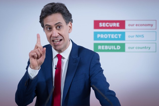 Ed Miliband called for an 'electric car revolution' but admitted he doesn't own one