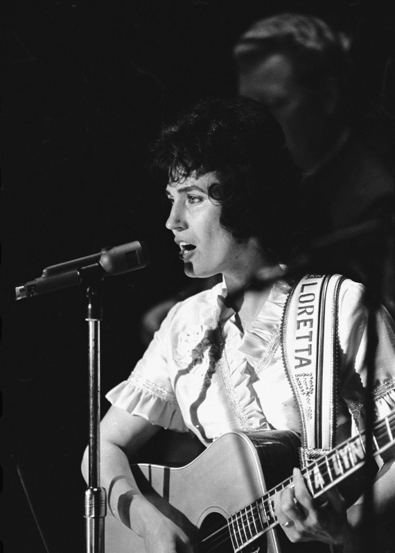 Loretta's music drew on experience of her turbulent marriage to the late husband she called Doo, Doolittle Lynn, the father of her six children
