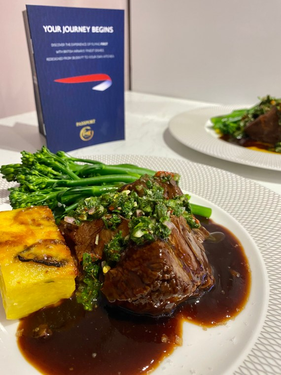 The British beef cheeks with Jalapeno gratin and tenderstem broccoli was surprisingly easy