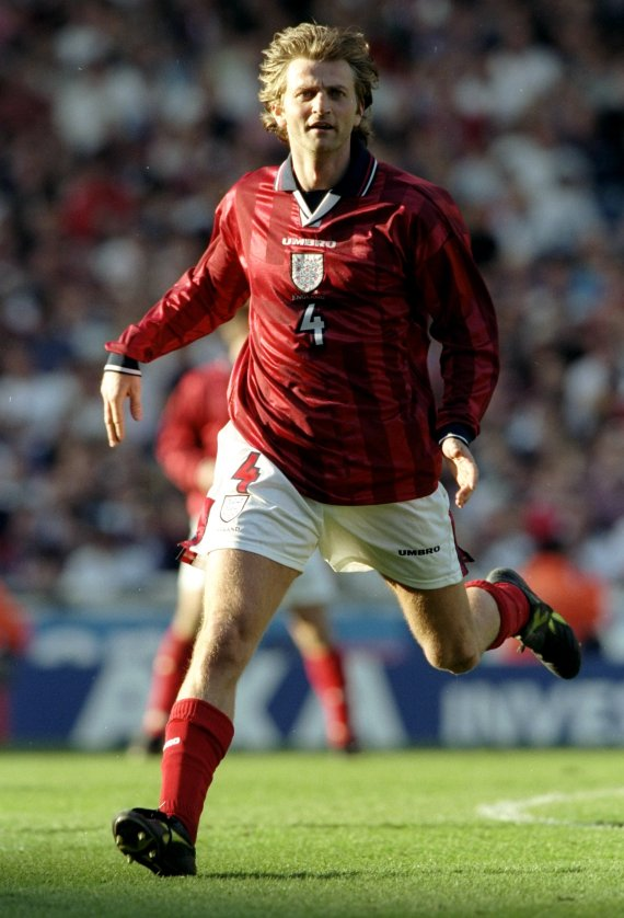 Tim Sherwood was 30 when he finally made his England debut, thanks to Kevin Keegan in March 1999