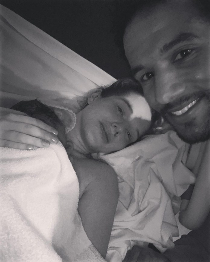 It's Helen's third baby with fianceé Scott Sinclair