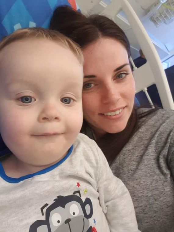 Leo, with mum Jemma, died of sepsis after suffering a nose infection