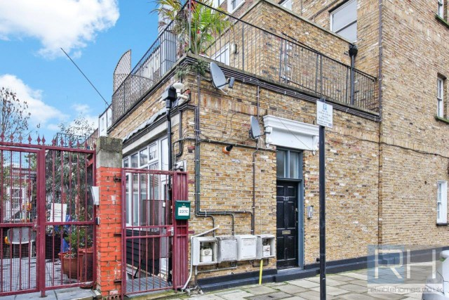 The quirky property is just off busy Caledonian Road in Islington