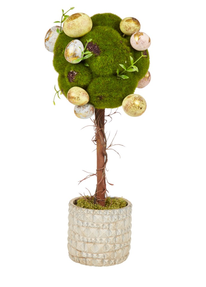 TK Maxx is also selling a cute Easter egg tree for £14.99