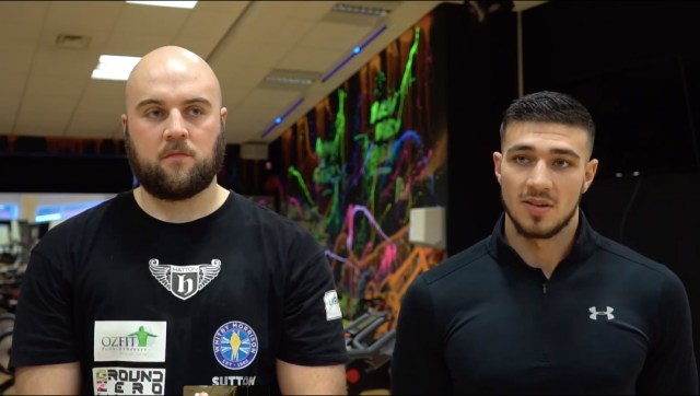 Nathan Gorman and Tommy Fury