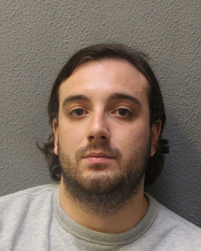 Alfie Atherton has been jailed for more than 10 years for taking part in a series of 'smash and grab' raids in London