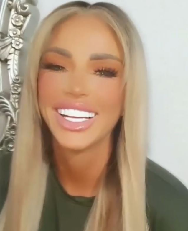 Katie Price  has been cruelly trolled for appearance in a new video