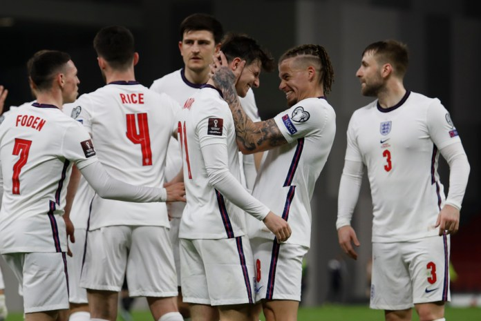 England maintained their 100 per cent start to World Cup qualification in Albania