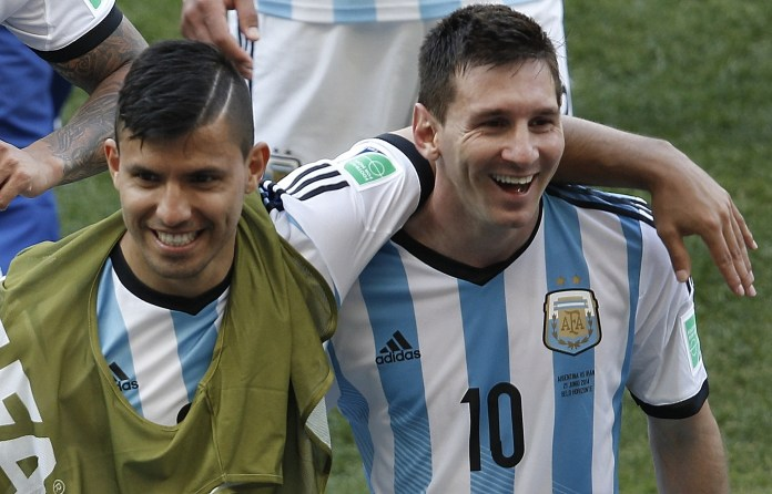 City have been linked with Aguero's buddy Lionel Messi