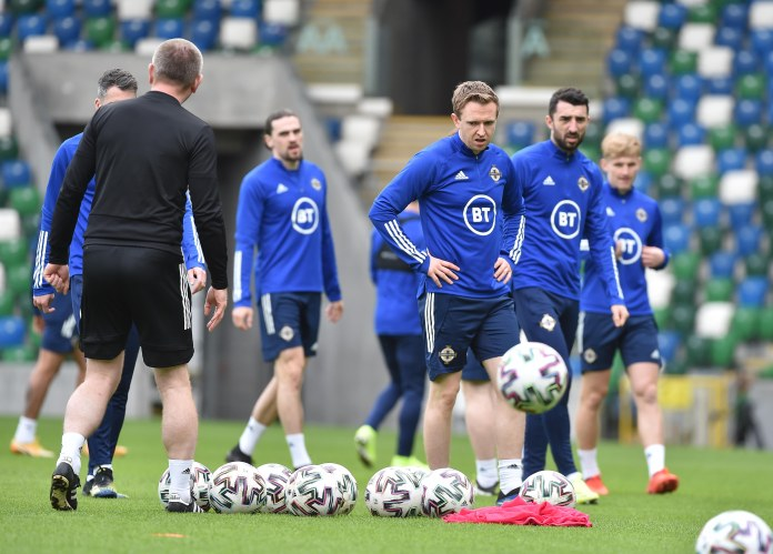 Northern Ireland are preparing for their WC qualifier with Bulgaria