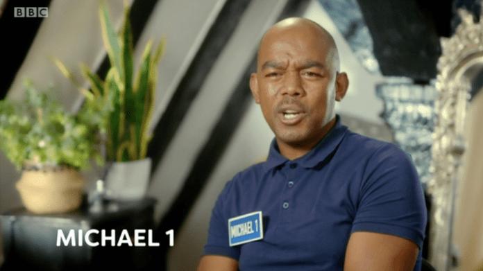 The second episode saw four men pretending to be Michael Paris