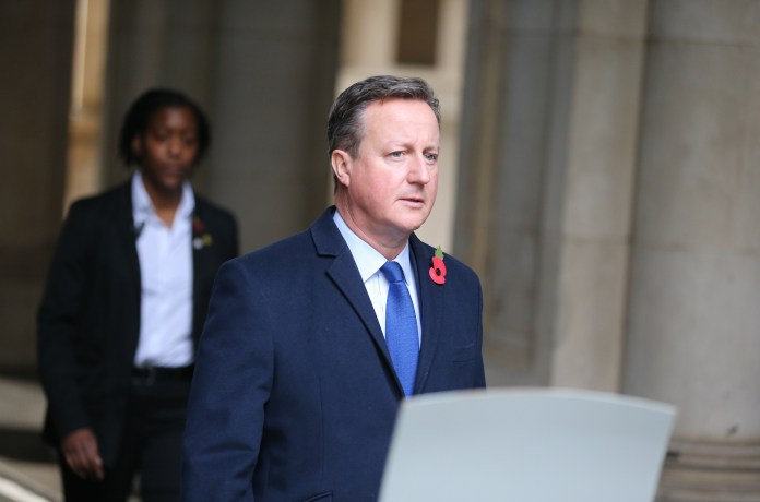 David Cameron under pressure after business card appears to place pal at Downing Street