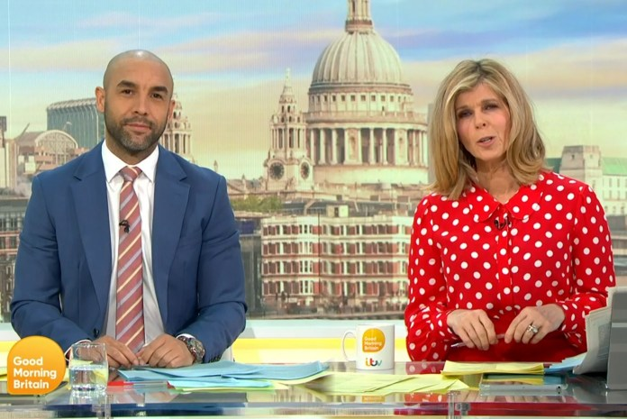 Good Morning Britain got complaints related to Alex Beresford hosting the show