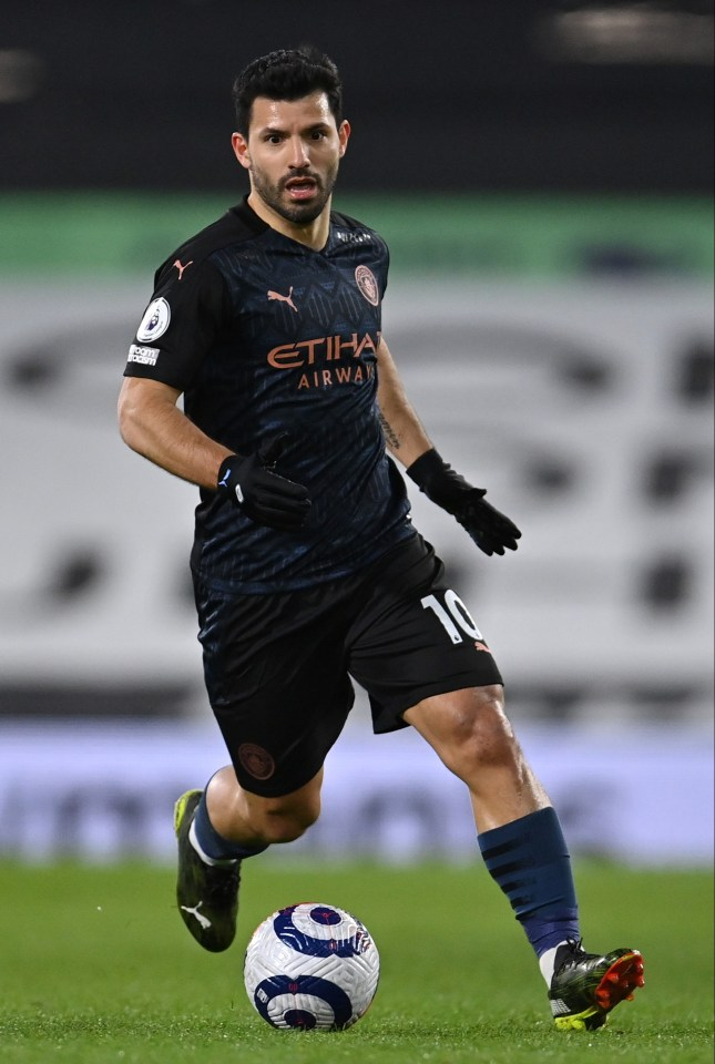 But any transfer depends on whether they can land Man City legend Sergio Aguero
