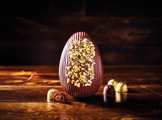 The Morrisons Free From The Best Truffle Indulgence Easter Egg is really luxurious