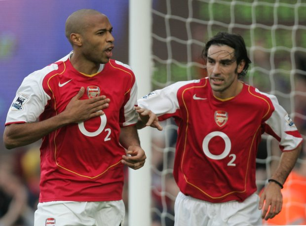 Thierry Henry and Robert Pires linked up 29 times in total for Arsenal