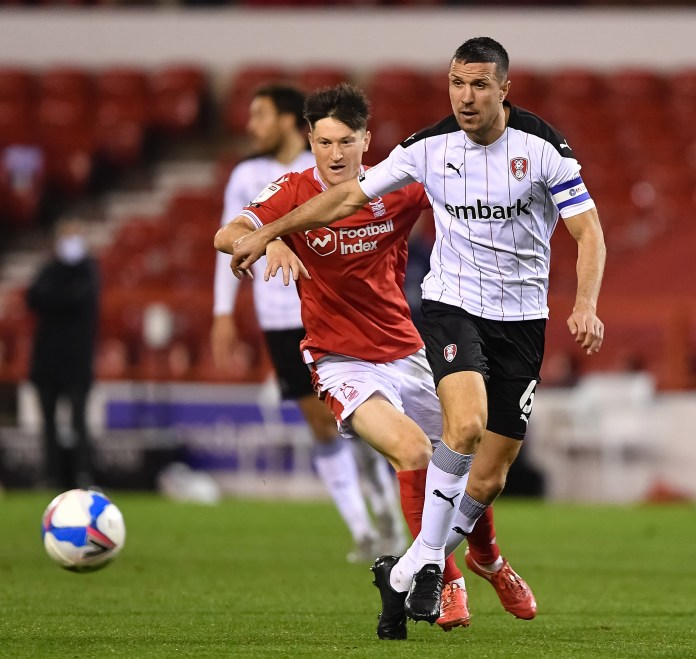 Richard Wood is still going strong for Rotherham at the age of 35