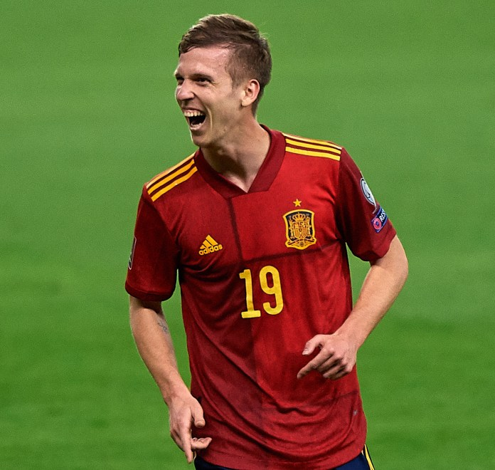 Dani Olmo now cherishes the memory of his junior days with Barcelona but had some tearful and resentful moments as a kid, before moving to Germany
