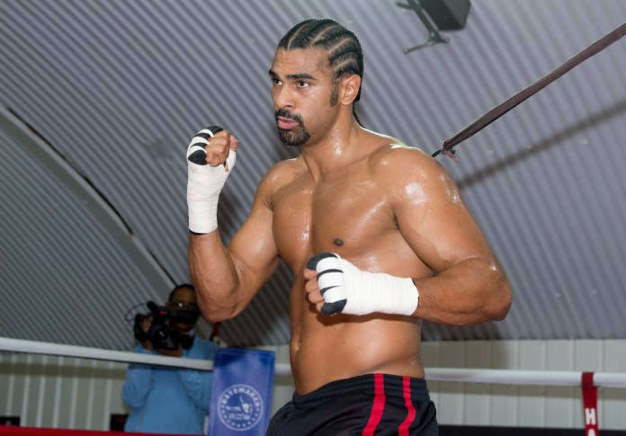 David Haye believes he would've knocked Tyson Fury clean out