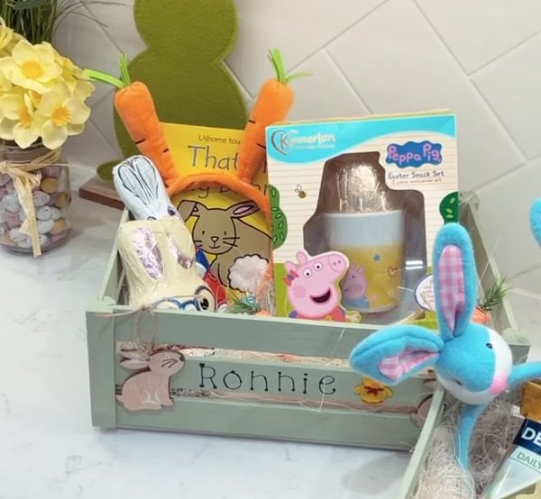 Mrs Hinch has revealed the amazing Easter crates she made with bargains from Aldi and ebay