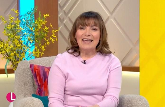 Lorraine Kelly updated fans