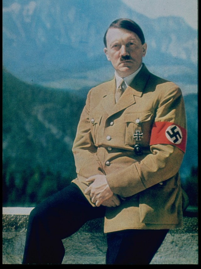 Hitler though men who succumbed to lust were 'pitiful'