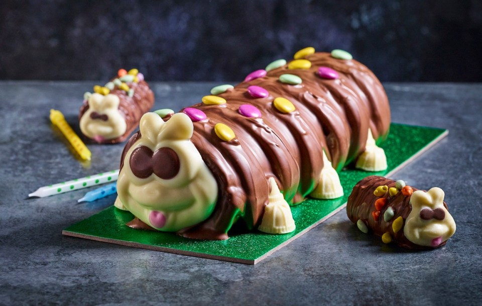 M&S launched Colin the Caterpillar around 30 years ago