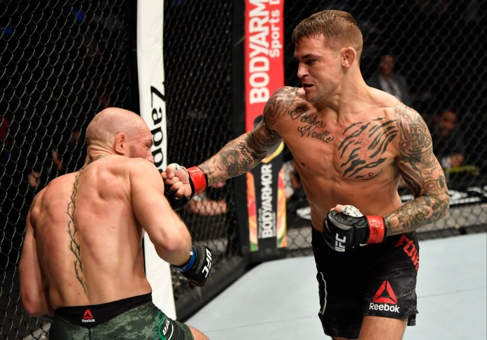 Dustin Poirier knocked out Conor McGregor in the second round of their UFC 257 rematch
