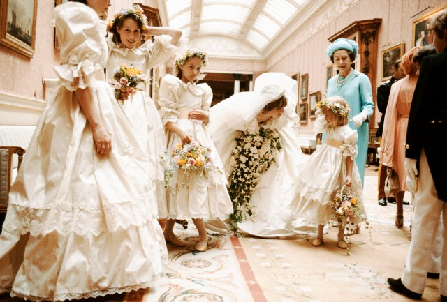 Charles and Diana's wedding on July 29, 1981