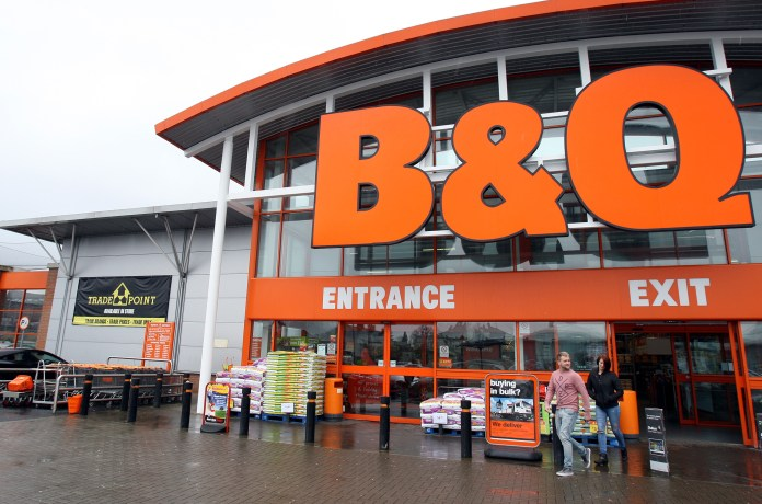 Brits will be rushing to B&Q to pick up their tools for the job